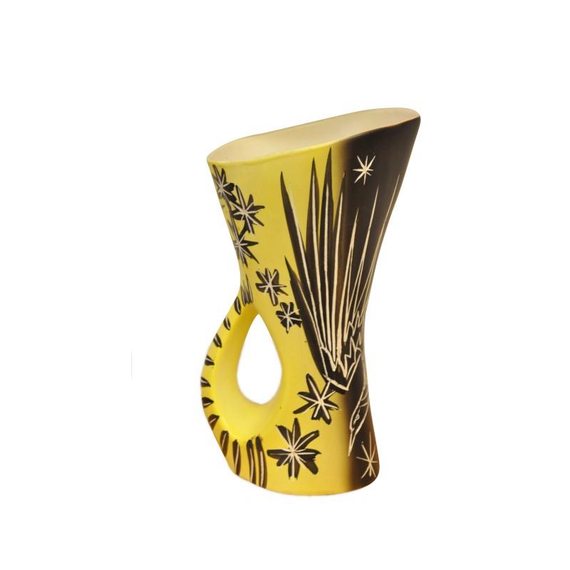 mid century vase from vallauris. Black Bedroom Furniture Sets. Home Design Ideas