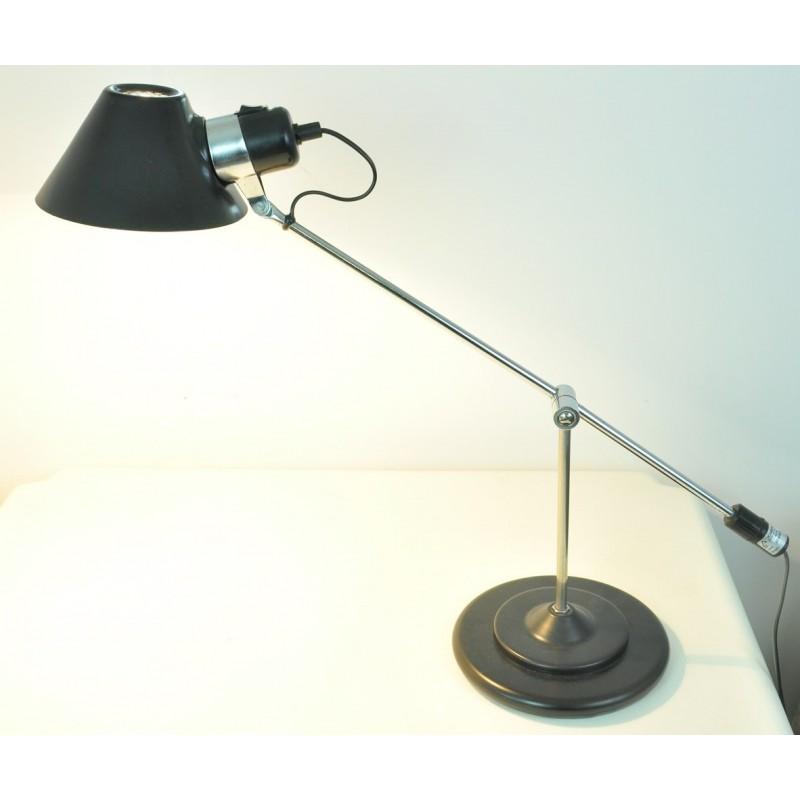 lampe de bureau aluminor ann es 80. Black Bedroom Furniture Sets. Home Design Ideas