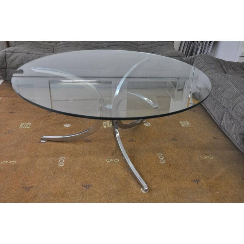 table basse ann es 70. Black Bedroom Furniture Sets. Home Design Ideas