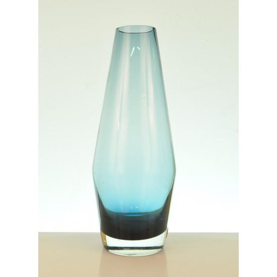 Vase bleu Riihimaen Lasi