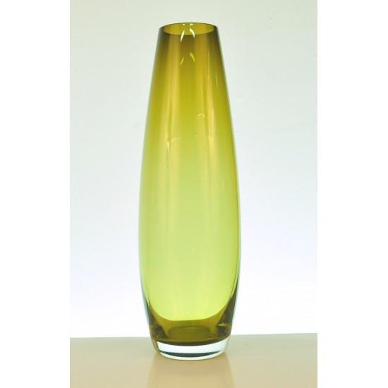 Vase jaune des années 60