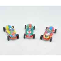 Lot de 3 voitures de course vintage made in Japan