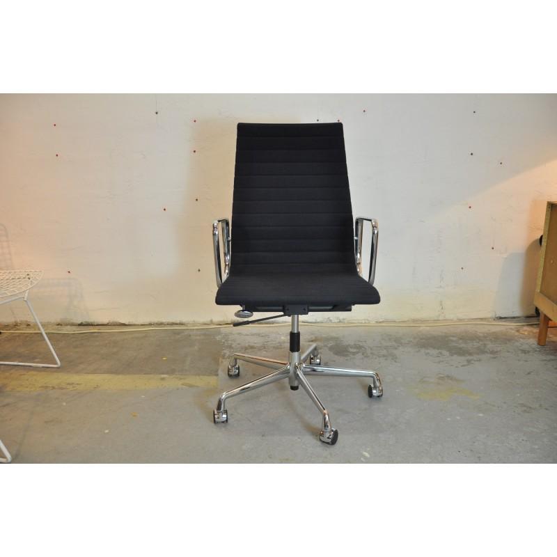 fauteuil de bureau eames ea119 polychrome vintage design. Black Bedroom Furniture Sets. Home Design Ideas