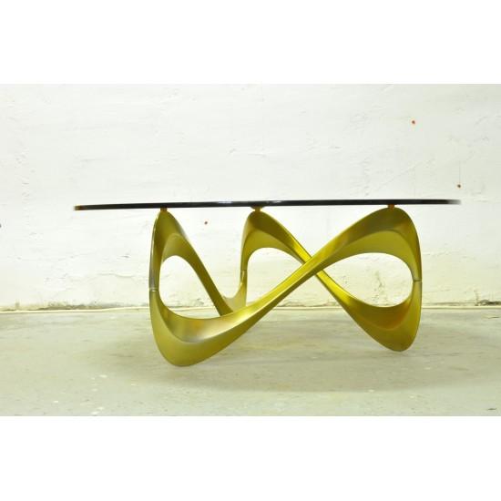 """Table basse """"Snake"""" de Knut Hesterberg"""