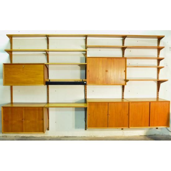 Wall unit - étagères de Poul Cadovius