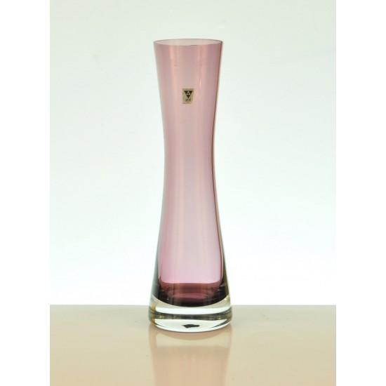 Vase rose Gral Glas