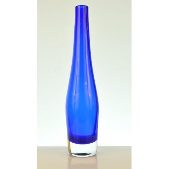 Vase bleu vintage